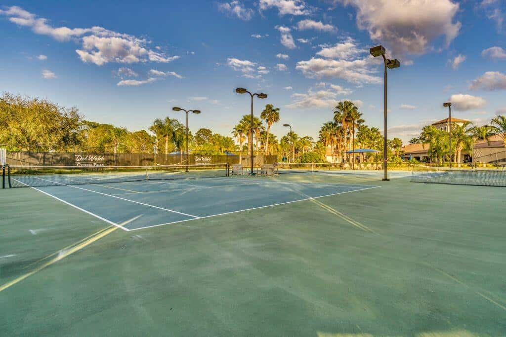Cypress Falls homes in North Port FL. - Tennis
