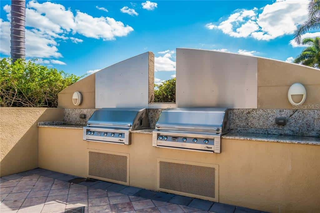 Bel Mare Condos For Sale in Palmetto, FL. - BBQ