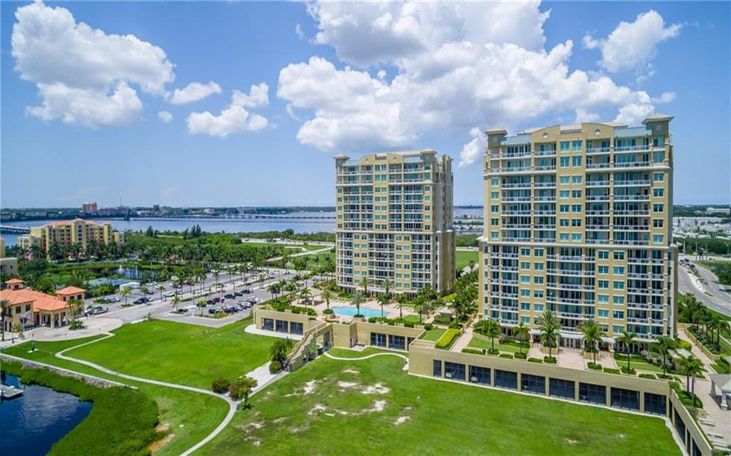 Bel Mare Condos For Sale in Palmetto, FL. - Aerial